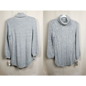 Style & Co / Gray Cowl Neck Sweater / Size S